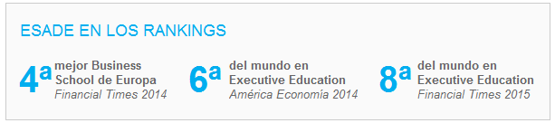 ESADE en los rankings