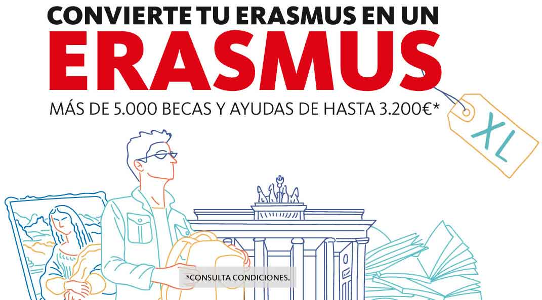 erasmus plus becas santander