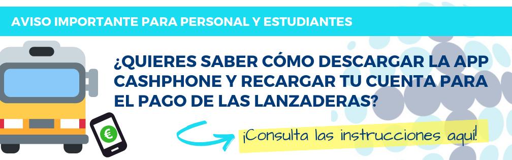 Lanzadera CashPhone