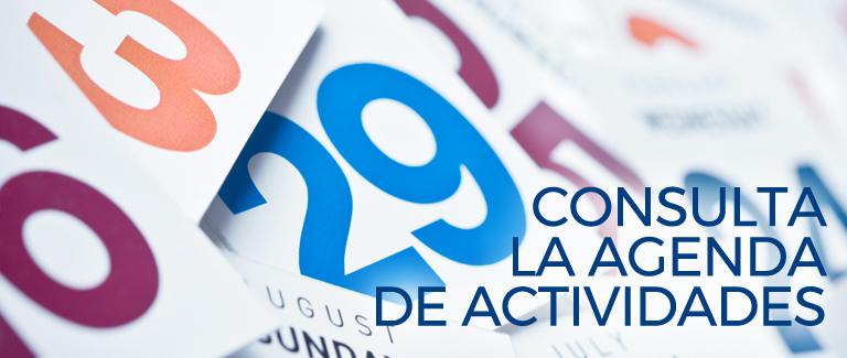 Consulta la agenda de actividades de la Universidad