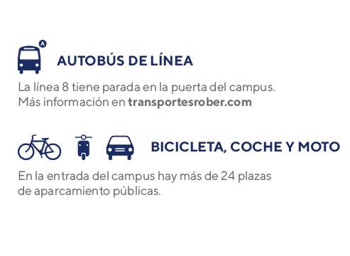 Instrucciones campus Granada - Cómo llegar
