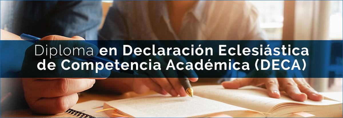 Declaración Eclesiástica de Competencia Académica (DECA)